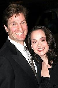 The Phantom of the Opera Movie Premiere - John Cudia - Julie Hanson