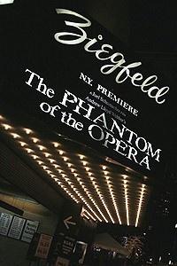 The Phantom of the Opera Movie Premiere - Marquee