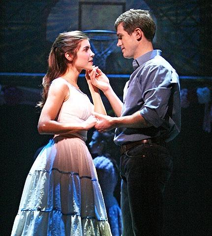 West Side Story - Show Photos - Josefina Scaglione - Matt Cavenaugh (school dance scene)
