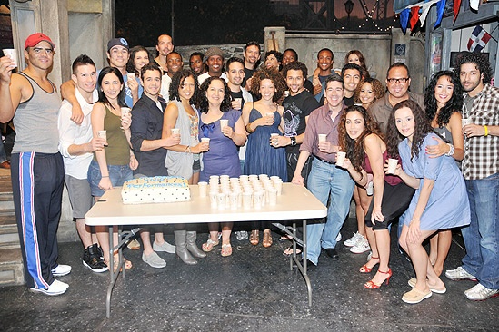 In the Heights 1000 Performances – In the Heights final shot