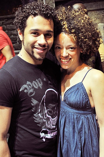 In the Heights 1000 Performances – Corbin Bleu – Marcy Harriell