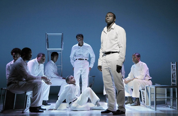 Show Photos - The Scottsboro Boys - Joshua Henry - cast