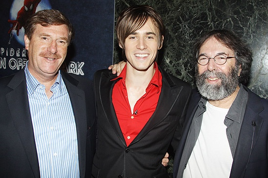Spider-man GMA – Reeve Carney – Jeremiah Harris - Michael Cohl