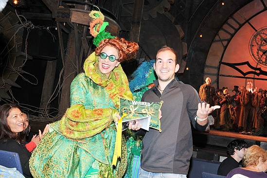 Wicked 5 Millionth Audience Member – Briana Yacavone - Brett LaTorre