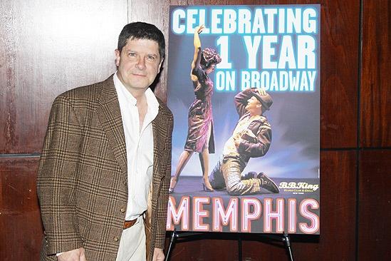 Memphis First Anniversary on Broadway – Michael McGrath