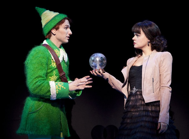 Show Photos - Elf - Sebastian Arcelus - Amy Spanger