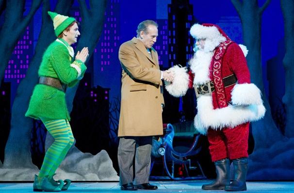 Show Photos - Elf - Sebastian Arcelus - Mark Jacoby - George Wendt