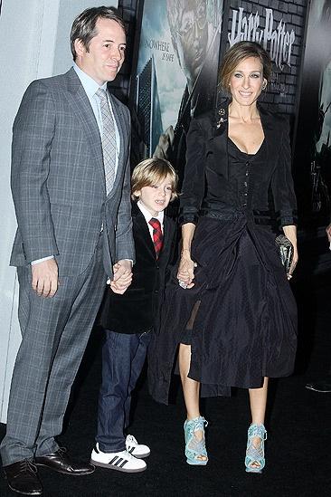 Harry Potter 7 – Matthew Broderick – son James– Sarah Jessica Parker