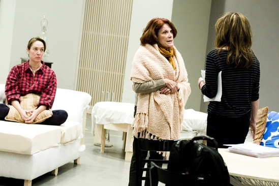 Other Desert Cities Rehearsal – Elizabeth Marvel – Stockard Channing – Linda Lavin (color)