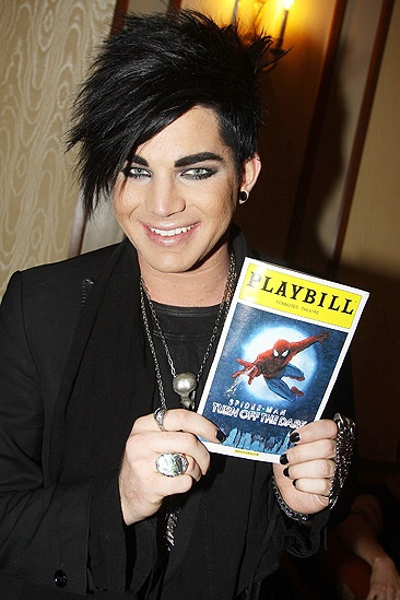 Lambert Spiderman - Adam Lambert 1