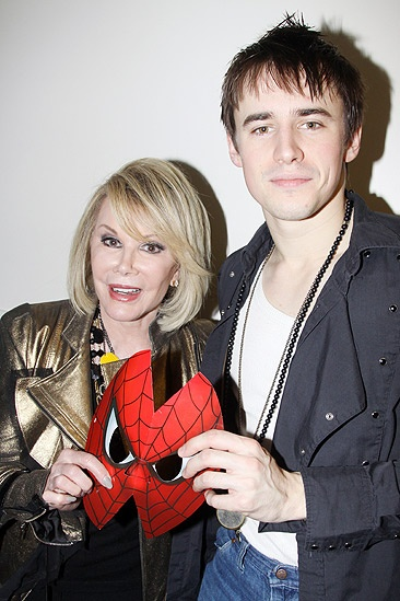 Joan Rivers Spider-man – Joan Rivers – Reeve Carney 2