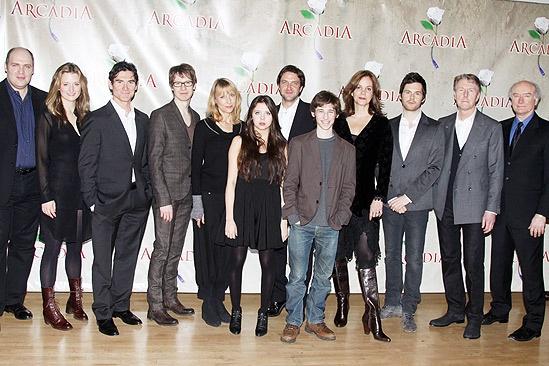 Arcadia meet – entire cast