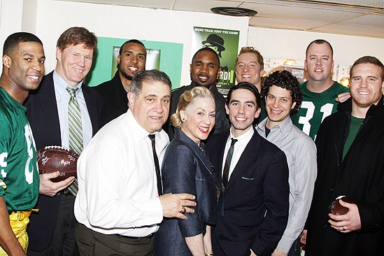 Lombardi Real Packers – Robert Christopher Riley – Mark Murphy – Ryan Grant – Dan Lauria - Charles Woodson – Judith Light – Keith Nobbs – Bill Dawes – Thomas Kail – Chris Sullivan – John Kuhn