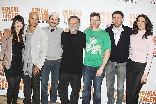 Tiger Meet – Shelia Vand – Glenn Davis – Arian Moayed – Robin Williams – Brad Fleischer –Hrach Titizian – Necar Zadegan
