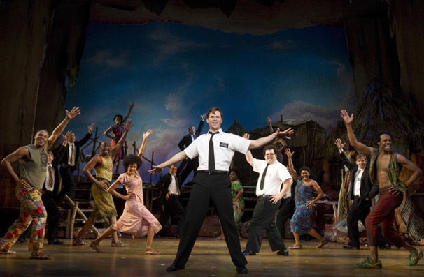 Show Photos - The Book of Mormon - Andrew Rannells - cast