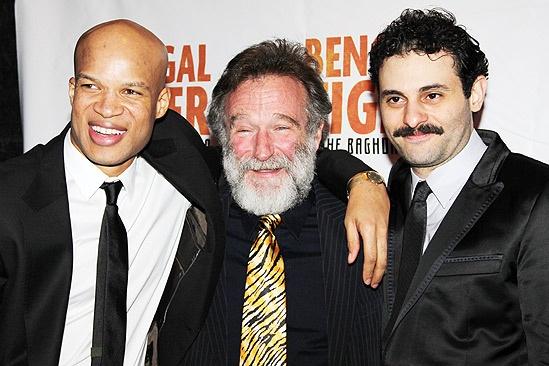 Bengal Tiger opens – Glenn Davis – Robin Williams – Arian Moayed