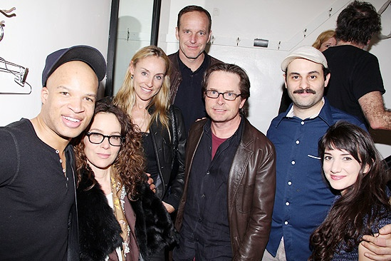 Bengal Tiger celebs – Glenn Davis – Jennifer Grey – Tracy Pollan – Clark Gregg – Michael J. Fox – Arian Moayed –Sheila Vand