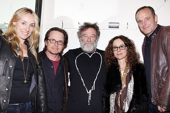 Bengal Tiger celebs  - Tracy Pollan – Michael J. Fox – Robin Williams – Jennifer Grey – Clark Gregg