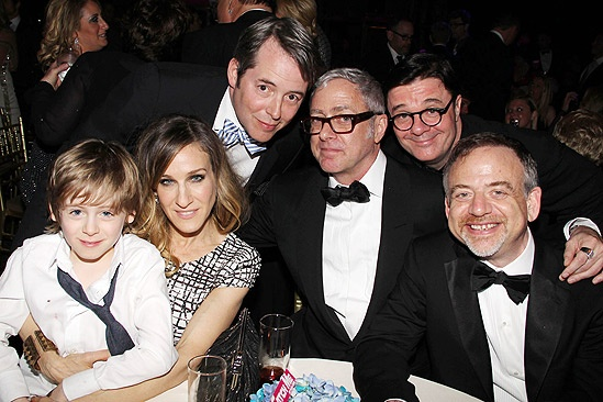 Catch Me If You Can Opening Night – James Wilkie Broderick – Sarah Jessica Parker – Matthew Broderick – Scott Wittman – Nathan Lane – Marc Shaiman