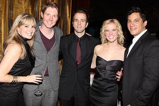 Sister Act Opening Night – Jessica Hartman – Justin Bohon – Curtis Holbrook – Patti Murin - Nicholas Rodriguez
