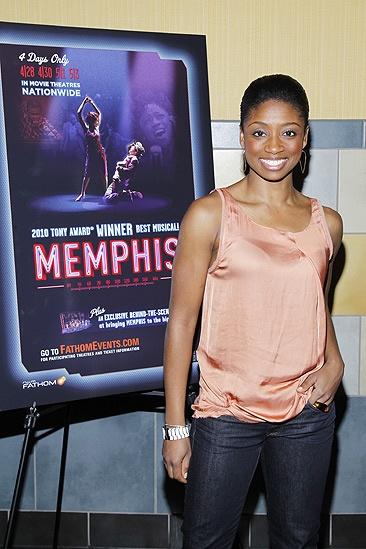 Memphis movie premiere – Montego Glover