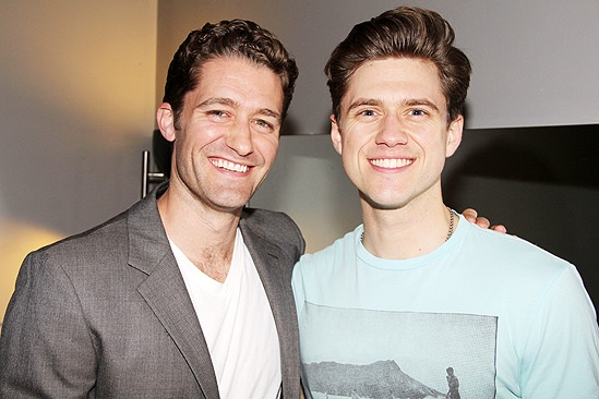 Matthew Morrison at Catch Me If You Can – Aaron Tveit – Matthew Morrison