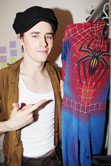 Spider-Man returns – Reeve Carney 2