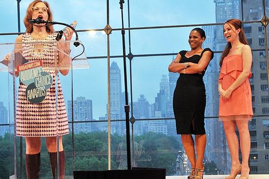 2011 Audience Choice Awards Ceremony – Jackie Hoffman – Audra McDonald – Sierra Boggess