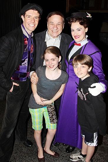 Cheryl Cole Poppins - Gavin Lee - Richard Sherman - Ashley Brown - Rozi Baker - Anthony Scarpone-Lambert