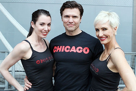 Chicago Fleet week - Melissa Rae Mahon - Brent Barrett - Amra-Faye Wright