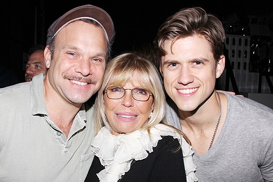 Nancy Sinatra & Mark Sanchez at Catch Me If You Can – Norbert Leo Butz – Nancy Sinatra – Aaron Tveit