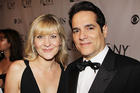 2011 Tony Awards Red Carpet – Yul Vazquez - wife