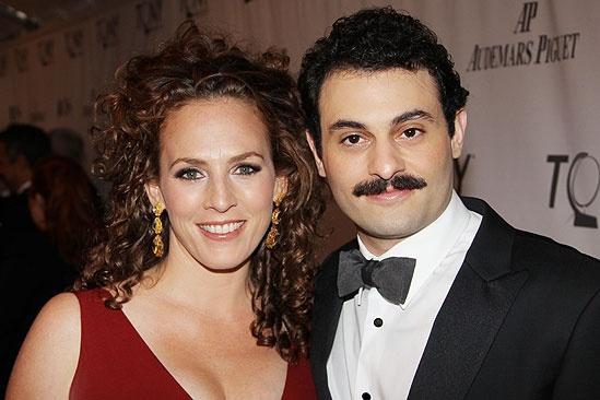2011 Tony Awards Red Carpet – Arian Moayed - Krissy Shields