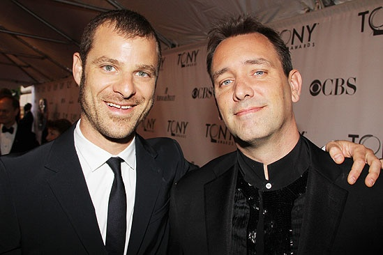 2011 Tony Awards Red Carpet – Matt Stone - Trey Parker