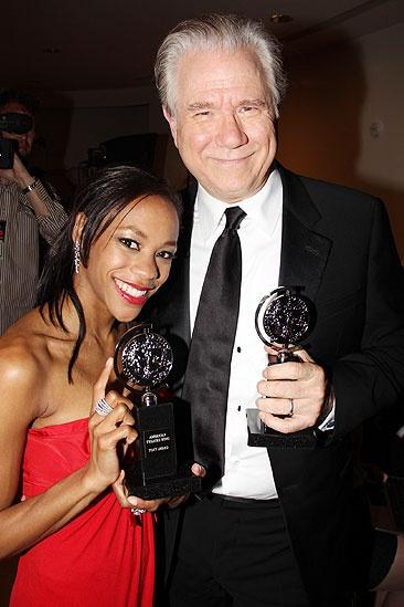 2011 Tony Awards Winners Circle – Nikki M. James – John Larroquette
