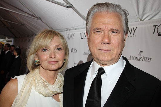 John Larroquette with gracious, Wife Elizabeth Larroquette