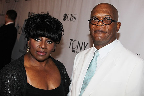 2011 Tony Awards Red Carpet – LaTanya Richardson - Samuel L. Jackson