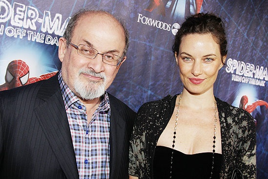 Spider-Man opening – Salmon Rushdie – guest