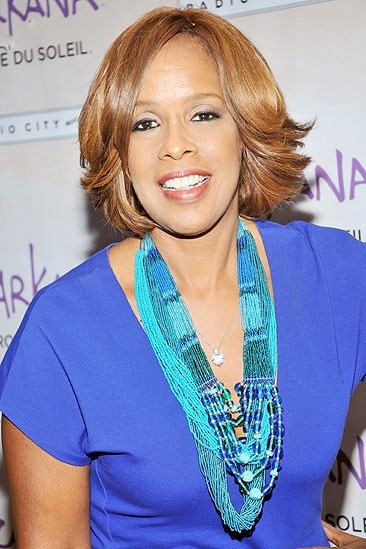Zarkana opening night – Gayle King