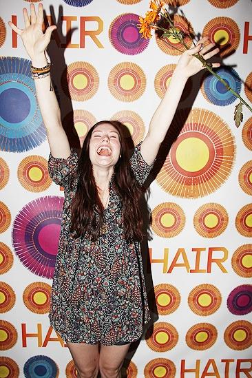 Hair Opening Night  2011 – Allison Case
