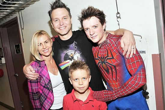 Spider-Man Hoppus - Skye - Mark Hoppus - Jack- Matthew James Thomas