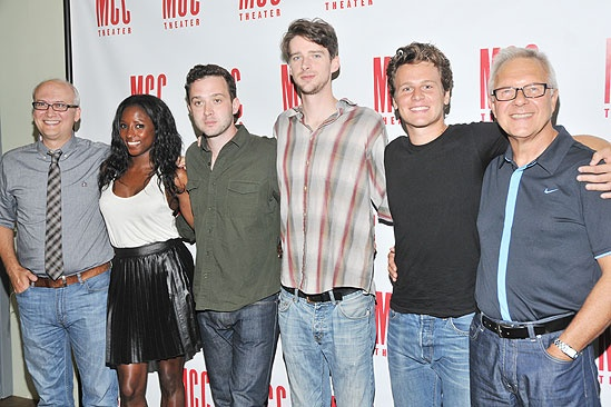 <i>The Submission</I> Meet and Greet  - Jeff Talbott – Rutina Wesley – Eddie Kaye Thomas – Will Rogers – Jonathan Groff – Walter Bobbie