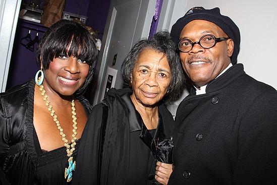 LaTanya Richardson Jackson - mom - Samuel L. Jackson