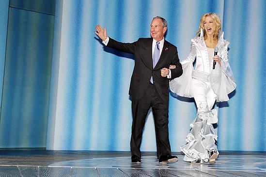 Mamma Mia Tenth Anniversary – Lisa Brescia – Michael Bloomberg