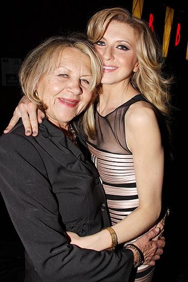 Venus in Fur Broadway Opening Night – Nina Arianda – mother
