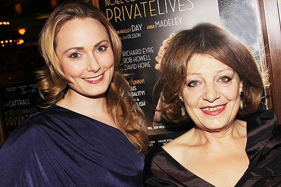 Private Lives opens - Anna Madeley - Caroline Lena Olsson