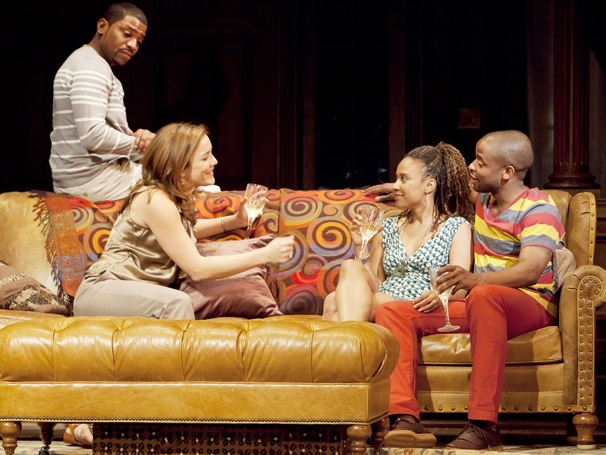 Show Photos - Stick Fly - Mekhi Phifer - Rosie Benton - Tracie Thoms - Dule Hill
