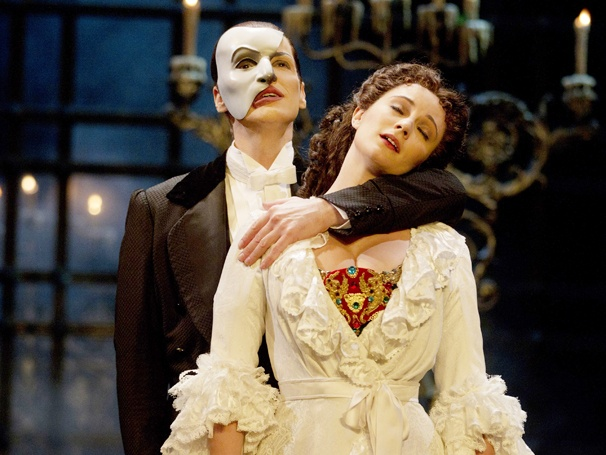 Show Photos - The Phantom of the Opera - Hugh Panaro - Trista Moldovan