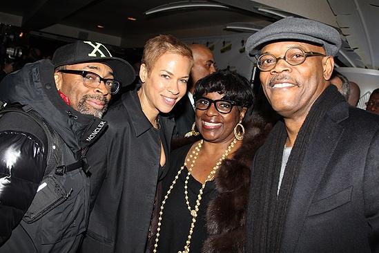 <i>Stick Fly</i> Opening Night – Spike Lee – Tonya Lewis Lee – Latoya Richardson – Samuel L. Jackson