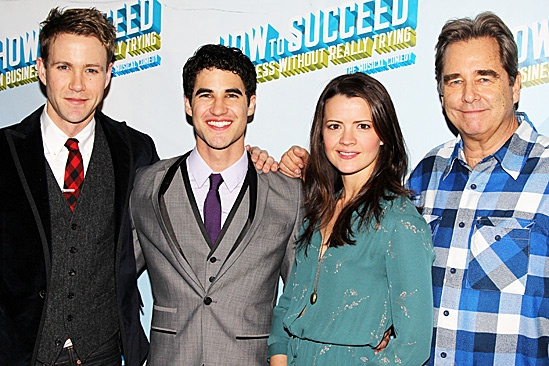 How to Succeed – Darren Criss Opening – Christopher J. Hanke – Darren Criss – Rose Hemingway – Beau Bridges